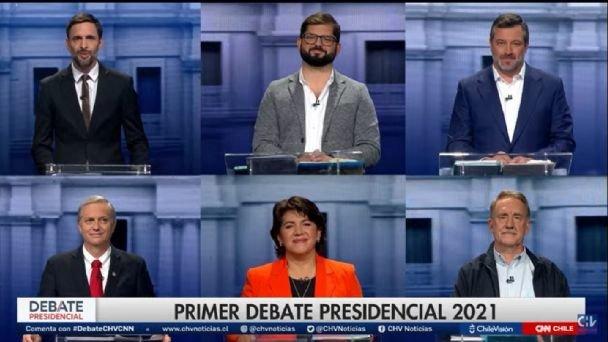 Chile: Las tres claves del primer debate presidencial