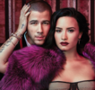 Demi Lovato y Nick Jonas encienden la revista Billboard