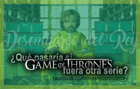 La serie de HBO, Game Of Thrones, invade otras series de la cultura popular