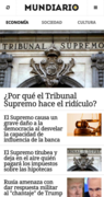 App de MUNDIARIO para Android y iPhone