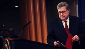 William Barr, fiscal general de Estados Unidos. / RR SS.