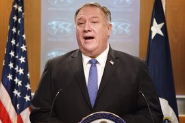 El secretario de Estado (saliente) de Estados Unidos, Mike Pompeo / The New York Times.