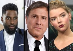 John David Washington, actor; David O. Russell, director; y  Anya Taylor-Joy, actriz. RR SS.
