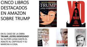 Libros sobre Donald Trump. / Amazon & Mundiario