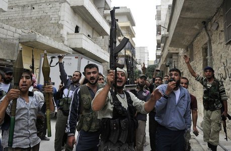 Rebeldes sirios. / notihoy.com
