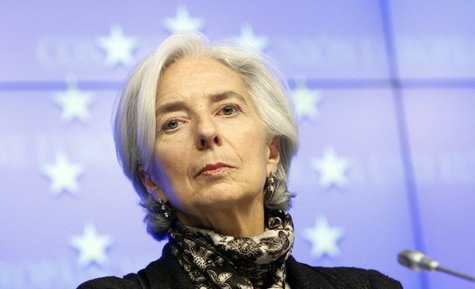 Christine Lagarde. / africasacountry.com