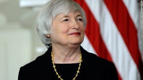 Janet Yellen. / CNN