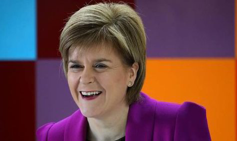 Nicola Sturgeon. / Daily Express