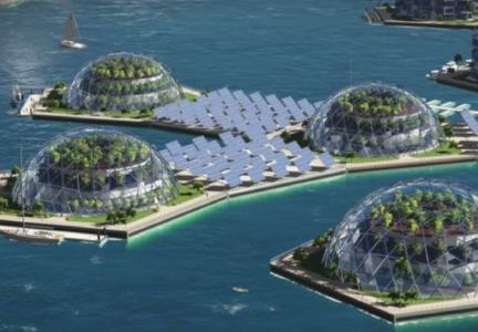 Islas Flotantes. Instituto Seasteading.