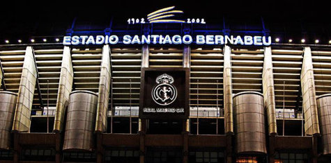 Estadio Santiago Bernabéu. / Real Madrid.