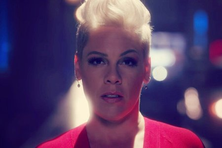 Pink, cantante. Instagram