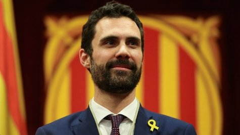 Roger Torrent, presidente del Parlament. / Mundiario