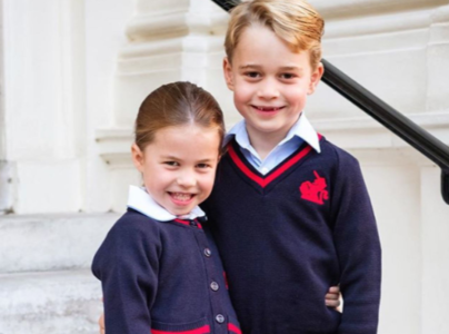George y Charlotte de Cambridge. Instagram.