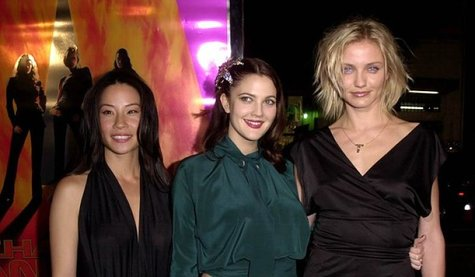 Lucy Liu, Drew Barrymore y Cameron Díaz, actrice de Hollywood. / RRSS