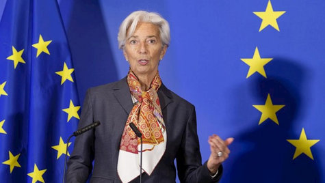 La presidenta del Banco Central Europeo, Christine Lagarde / AFP.