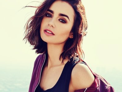 Lilly Collins, actriz. / Pinterest.