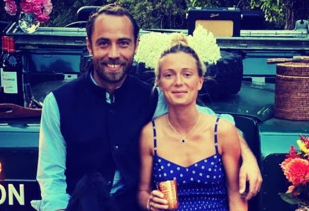 James Middleton y Alizee Thevenet. / RR SS.