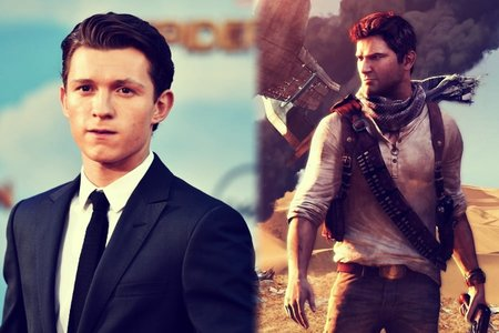 Tom Holland, actor; y Nathan Drake. _ RR SS.