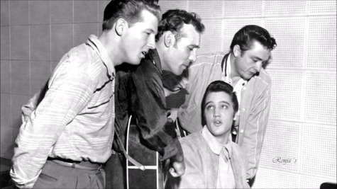 The Million Dollar Quartet. / RR SS