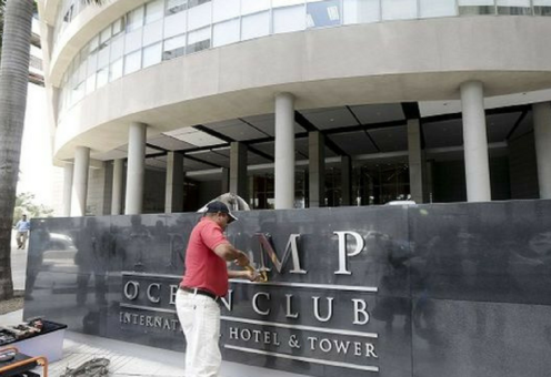 Trump Ocean Club International Hotel and Tower Panamá. / La Prensa
