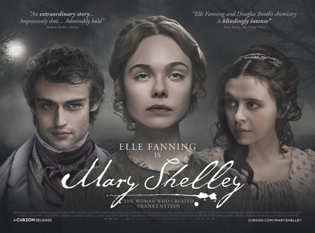 Poster oficial de Mary Shelley. RR SS.
