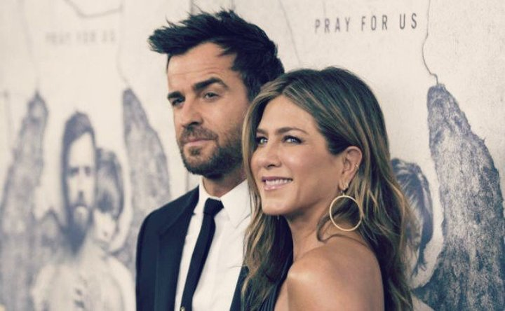 Justin Theroux, actor; Jennifer Aniston, actriz. RR SS