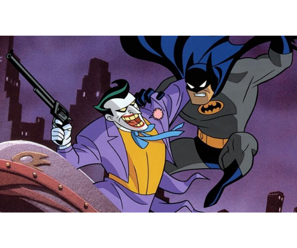 12. Batman The Animated Series. ABC.