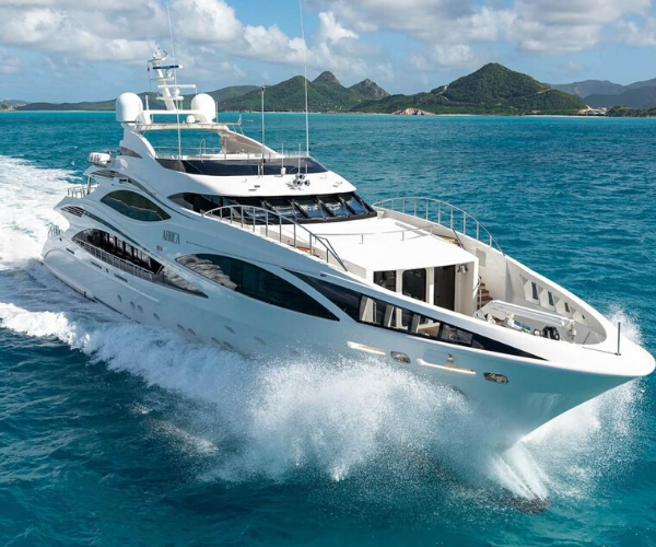 Yate África 1. Worldwide Luxury Yacht.