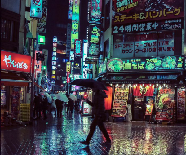 The Beauty of Tokyo at Night. / Liam Wong.