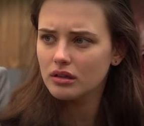 Katherine Langford (Hannah Baker) en Daughter e Imperfect Quadrant. / Nexus Production Group
