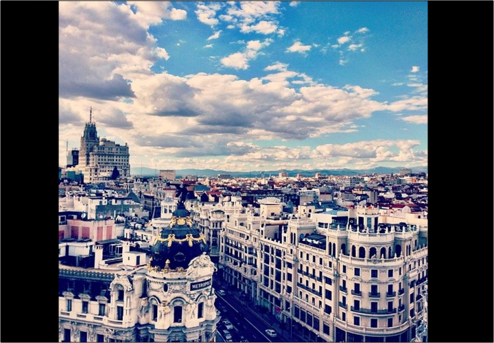 Madrid. / Instagram