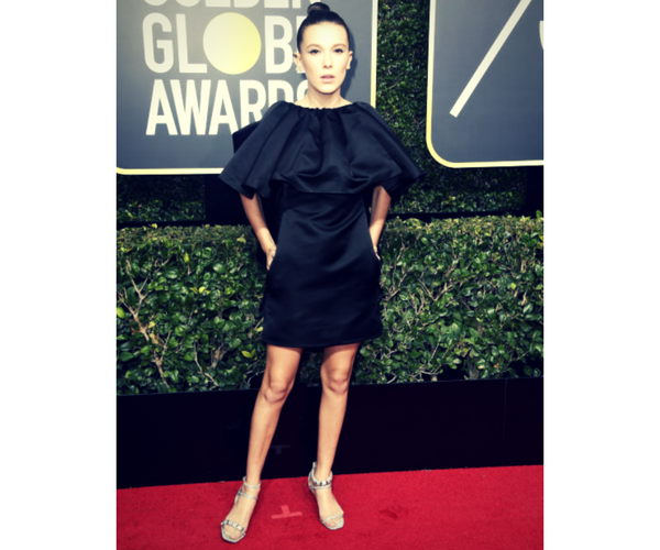 Millie Bobby Brown, actriz. / RR SS.