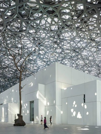Museo Louvre Abu Dhabi. / RR SS