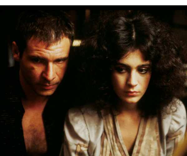 Harrison Ford y Sean Young en Blade Runner. / Productora.