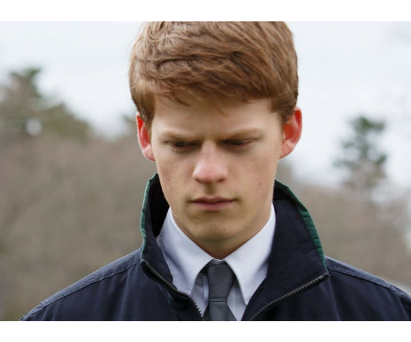 Lucas Hedges, actor. / Productora.