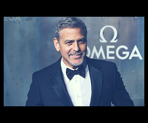 George Clooney, actor. / RR SS.