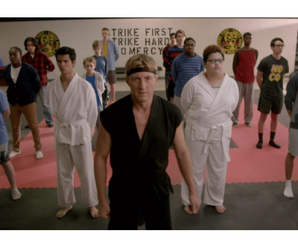 Cobra kai. Productora.