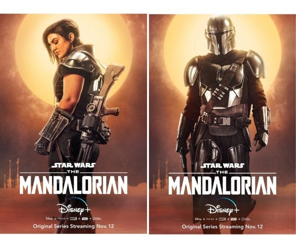 Pósters de The Mandalorian. Productora.  (2)