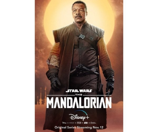 Pósters de The Mandalorian. Productora.  (3)
