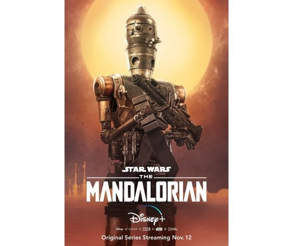 Pósters de The Mandalorian. Productora.  (4)