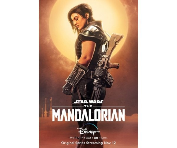 Pósters de The Mandalorian. Productora.  (1)