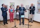 Forges inaugura la XXI  Muestra Internacional de las Artes del Humor, con la presencia del rector de la Universidad de Alcalá