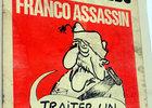 Franco asesino - Portada de Charlie Hebdo