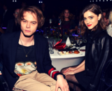 Natalia Dyer, actriz; y Charlie Heaton, actor. / Pinterest.