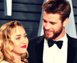 Miley Cyrus, cantante; y Liam Hemsworth, actor. Instagram.
