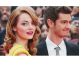 Emma Stone, actriz; y Andrew Garfield, actor. / Instagram.