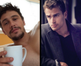 Theo James y James Franco. / RR SS.