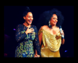Tracee Ellis Ross, actriz; y Diana Ross, cantante. / Pinterest.