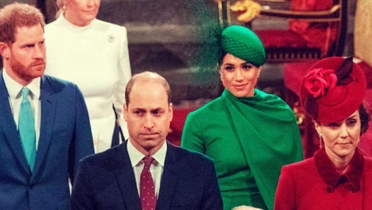 El incómodo reencuentro de Meghan y Harry con William y Kate