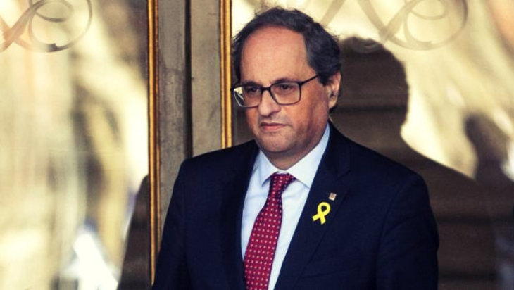 Torra y los independentistas encienden el Parlament en defensa del CDR